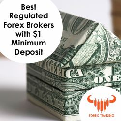 Best Regulated Forex Brokers with a $1 Minimum Deposit